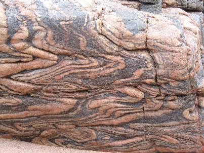 Lewisian Gneiss at Sandwood Bay